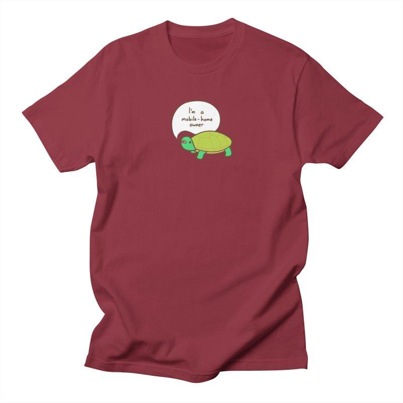 Mobile-Home Owner Men's T-Shirt by Good Bear Comics's Artist Shop