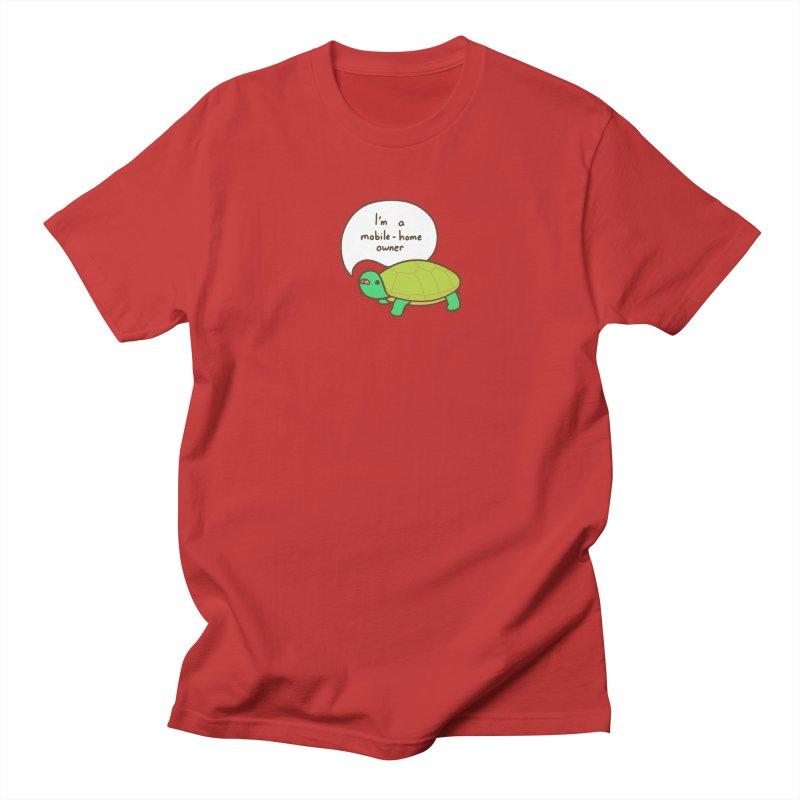 Mobile-Home Owner Women's Regular Unisex T-Shirt by Good Bear Comics's Artist Shop
