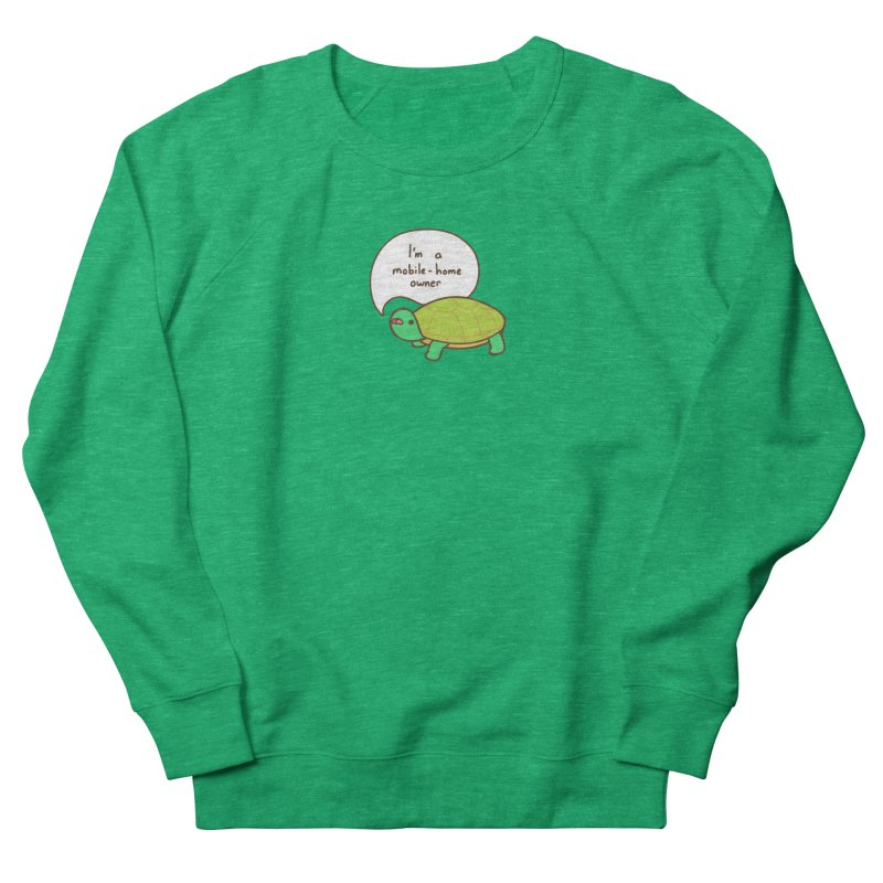 Mobile-Home Owner Men's French Terry Sweatshirt by Good Bear Comics's Artist Shop