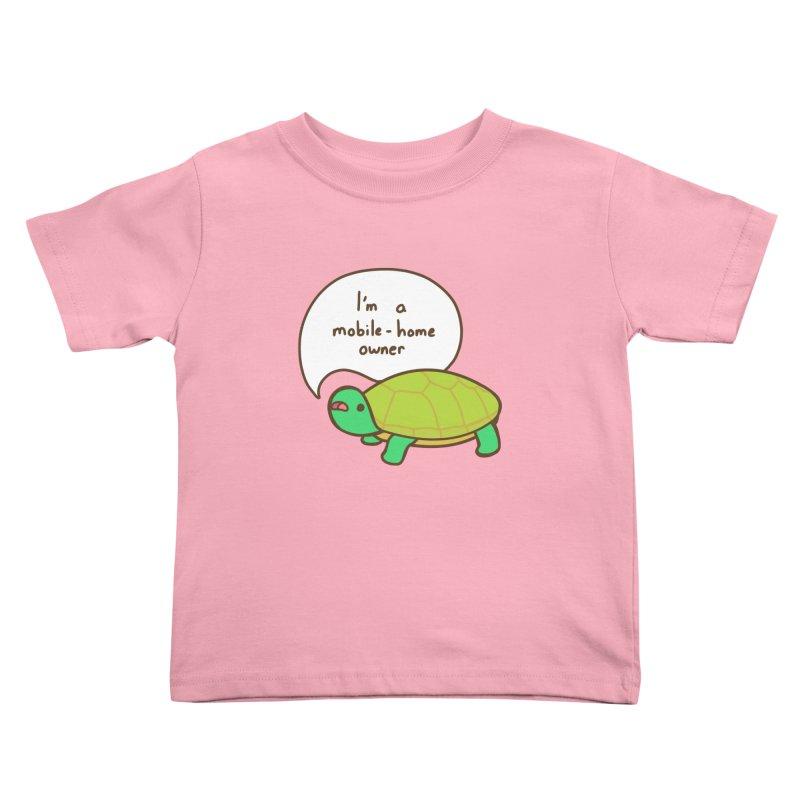 Mobile-Home Owner Kids Toddler T-Shirt by Good Bear Comics's Artist Shop