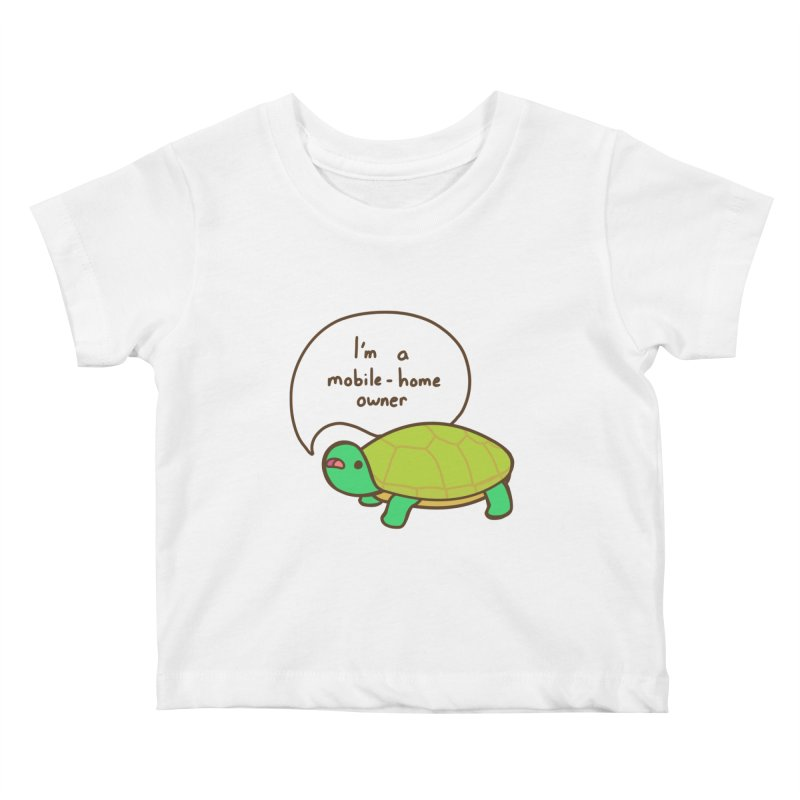 Mobile-Home Owner Kids Baby T-Shirt by Good Bear Comics's Artist Shop