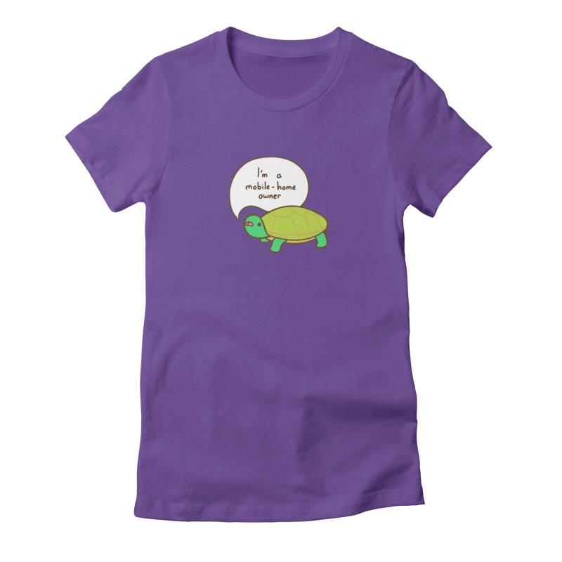 Mobile-Home Owner Women's T-Shirt by Good Bear Comics's Artist Shop