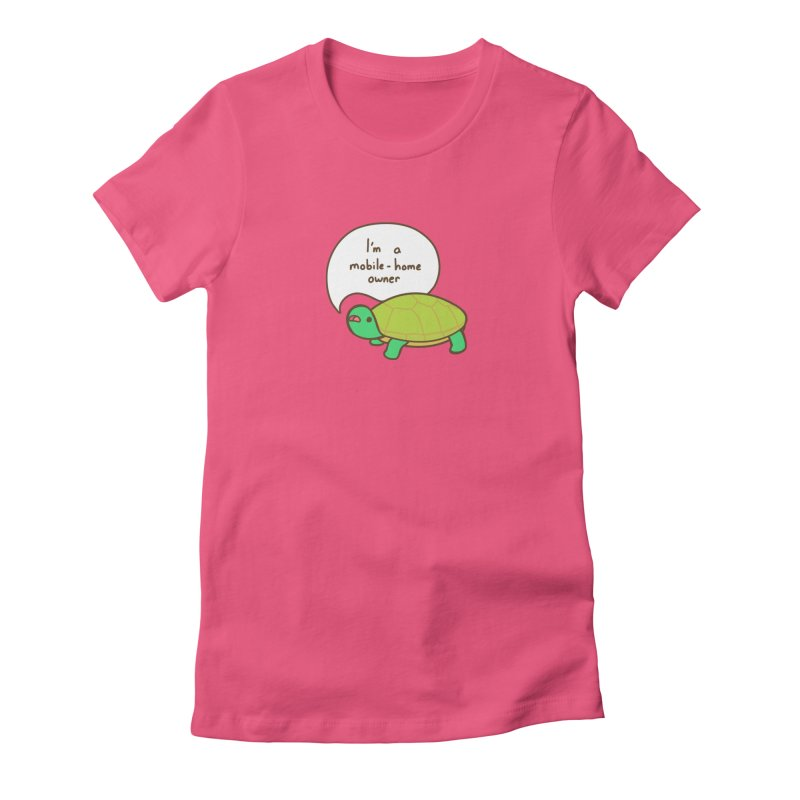 Mobile-Home Owner Women's T-Shirt by Good Bear Comics's Artist Shop