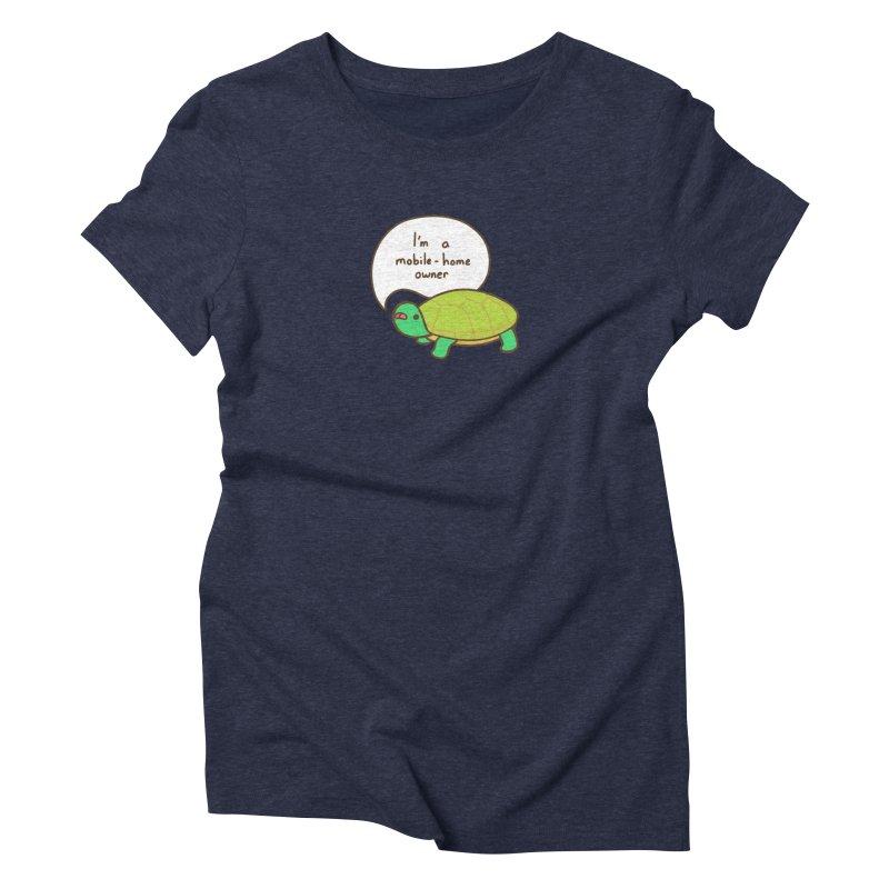 Mobile-Home Owner Women's Triblend T-Shirt by Good Bear Comics's Artist Shop