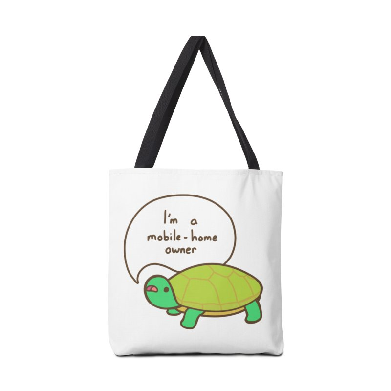 Mobile-Home Owner Accessories Tote Bag Bag by Good Bear Comics's Artist Shop