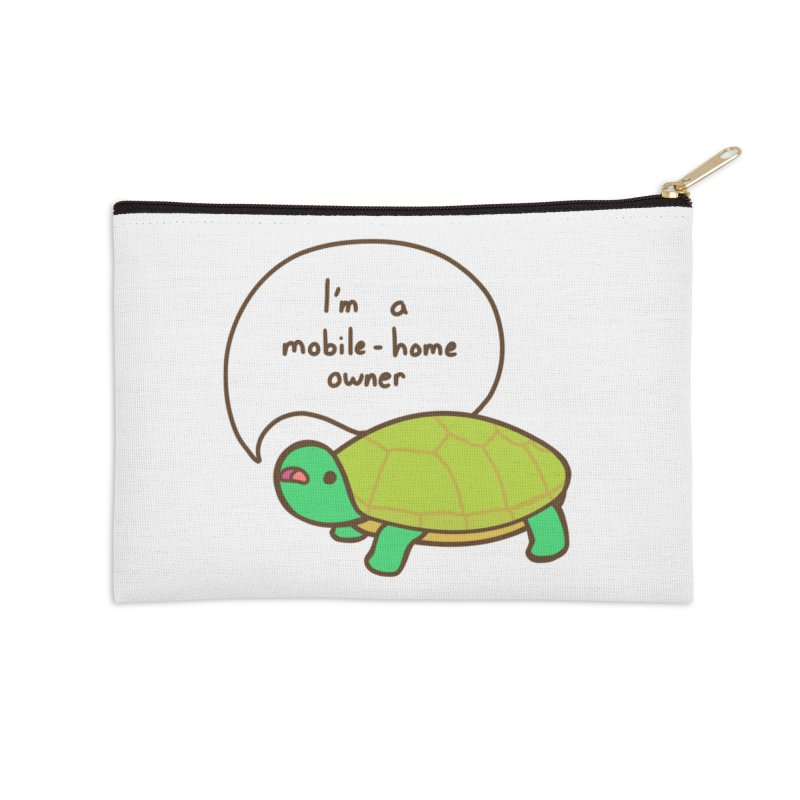 Mobile-Home Owner Accessories Zip Pouch by Good Bear Comics's Artist Shop