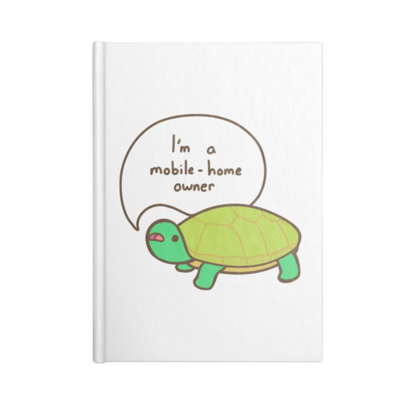 Mobile-Home Owner Accessories Blank Journal Notebook by Good Bear Comics's Artist Shop