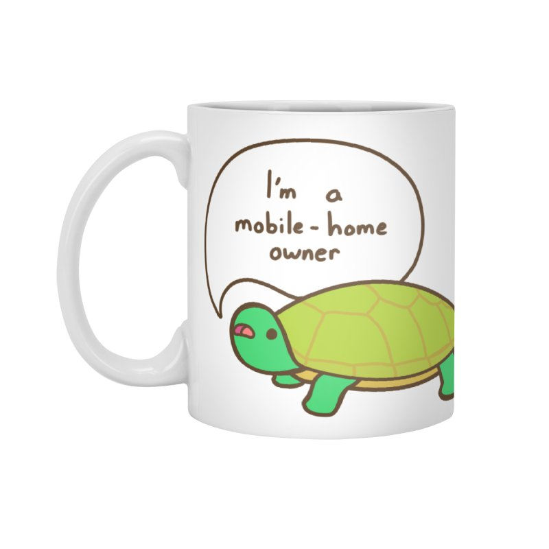 Mobile-Home Owner Accessories Standard Mug by Good Bear Comics's Artist Shop