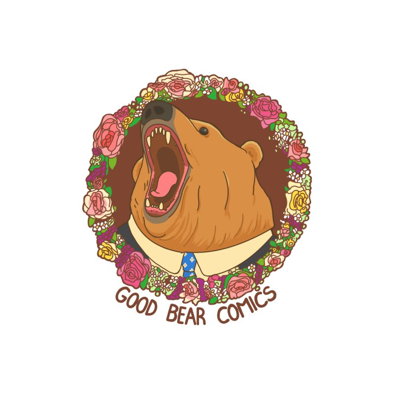Good Bear Comics Men's V-Neck by Good Bear Comics's Artist Shop