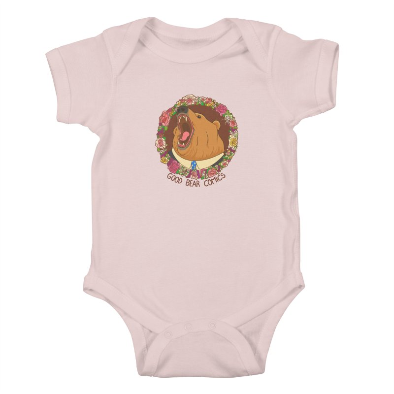 Good Bear Comics Kids Baby Bodysuit by Good Bear Comics's Artist Shop
