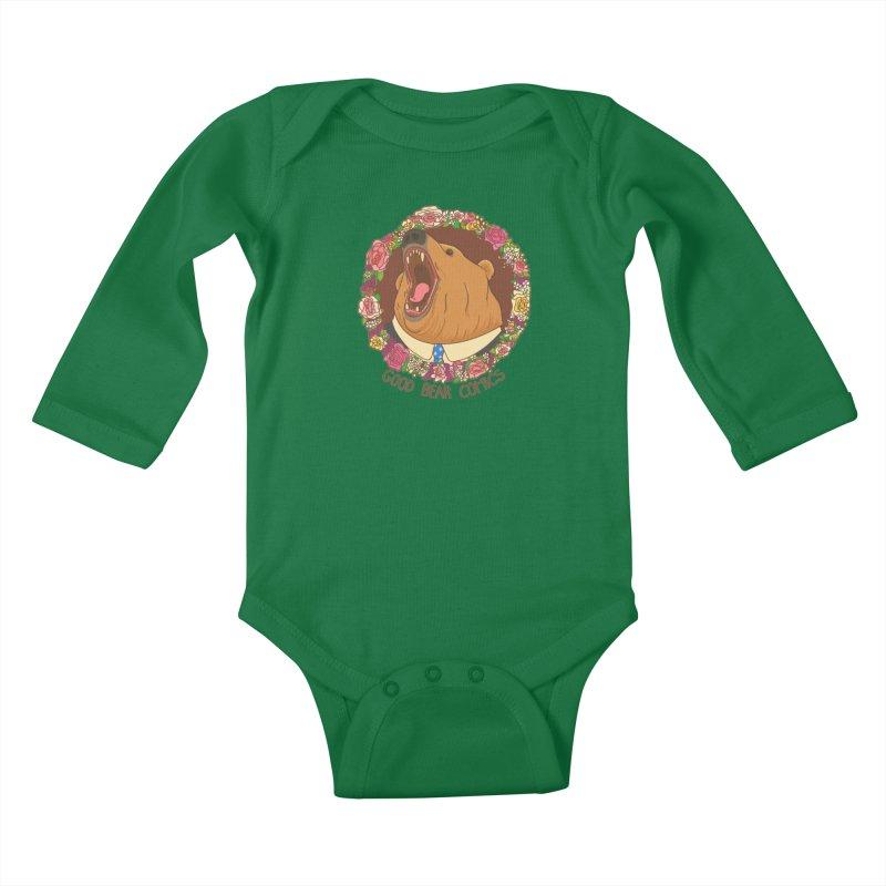 Good Bear Comics Kids Baby Longsleeve Bodysuit by Good Bear Comics's Artist Shop