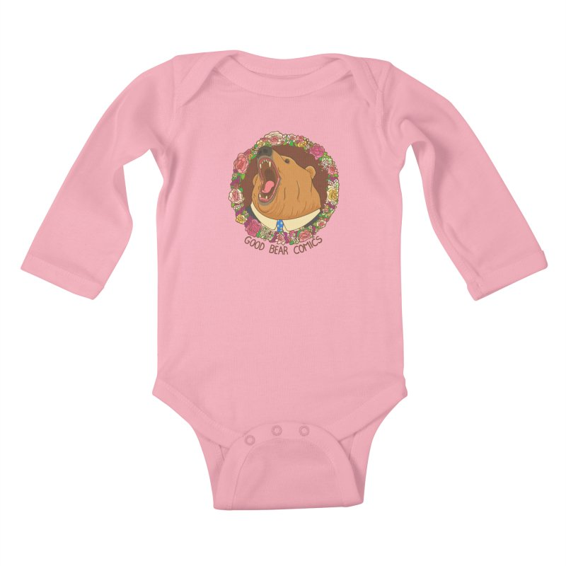 Good Bear Comics Kids Baby Longsleeve Bodysuit by Good Bear Comics's Artist Shop