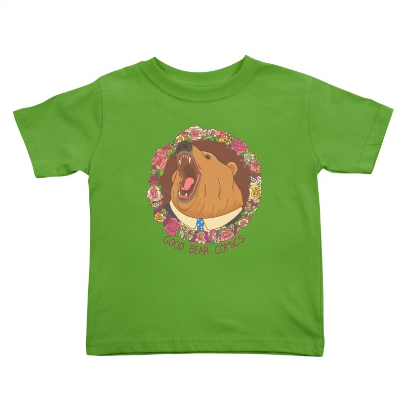 Good Bear Comics Kids Toddler T-Shirt by Good Bear Comics's Artist Shop
