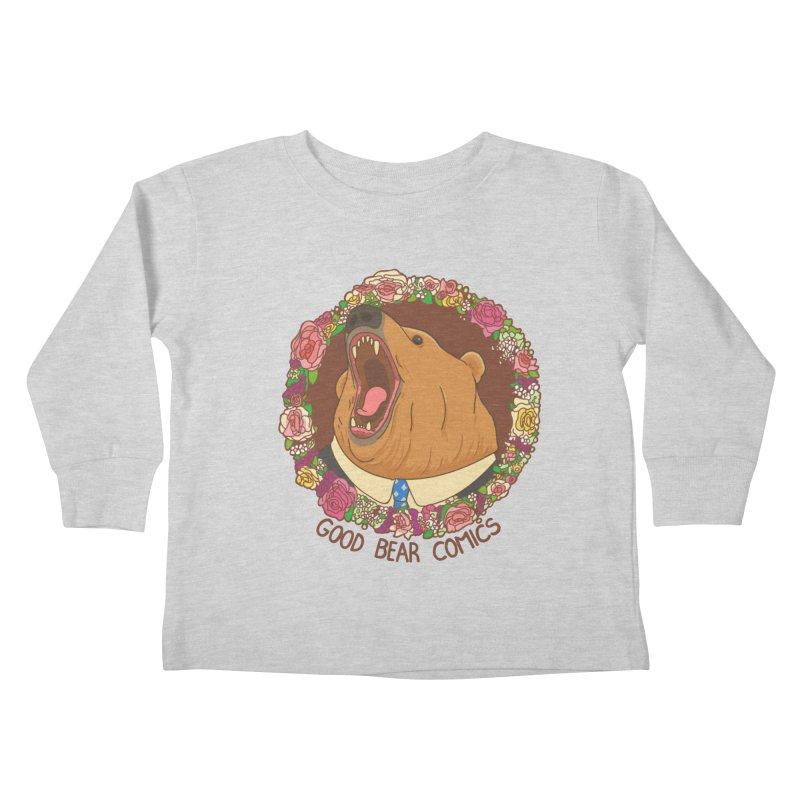 Good Bear Comics Kids Toddler Longsleeve T-Shirt by Good Bear Comics's Artist Shop