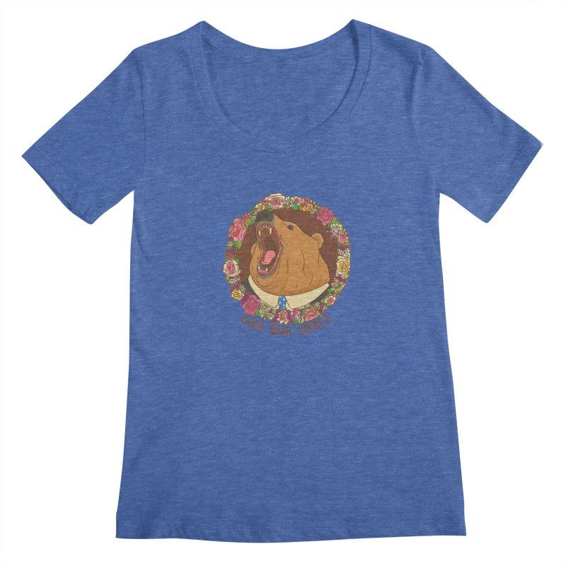 Good Bear Comics Women's Regular Scoop Neck by Good Bear Comics's Artist Shop