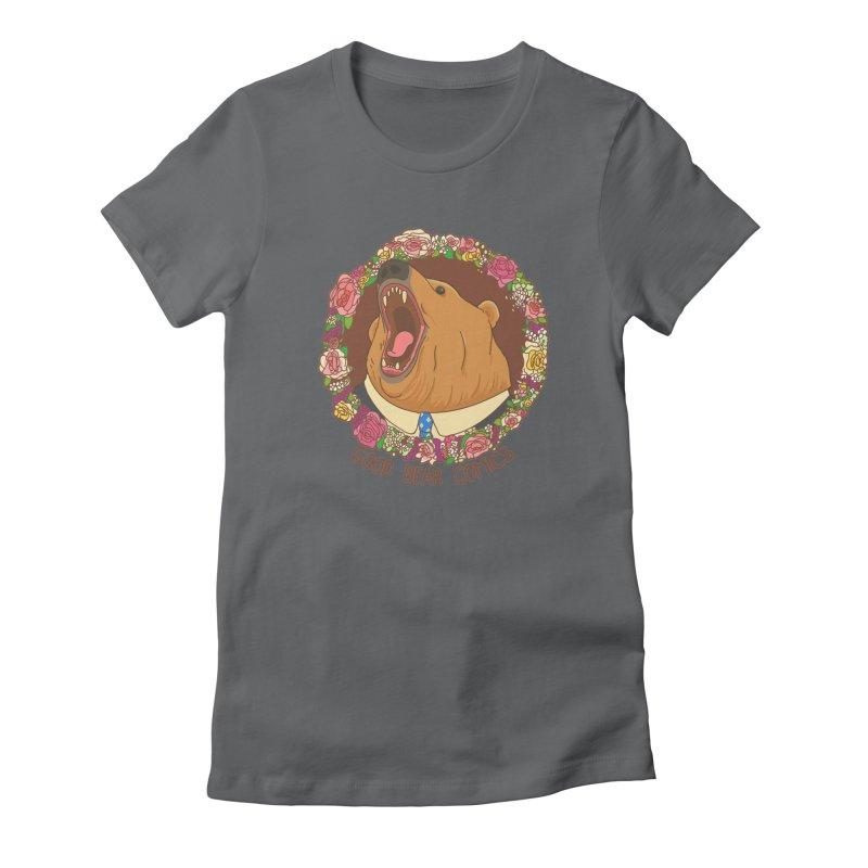 Good Bear Comics Women's Fitted T-Shirt by Good Bear Comics's Artist Shop