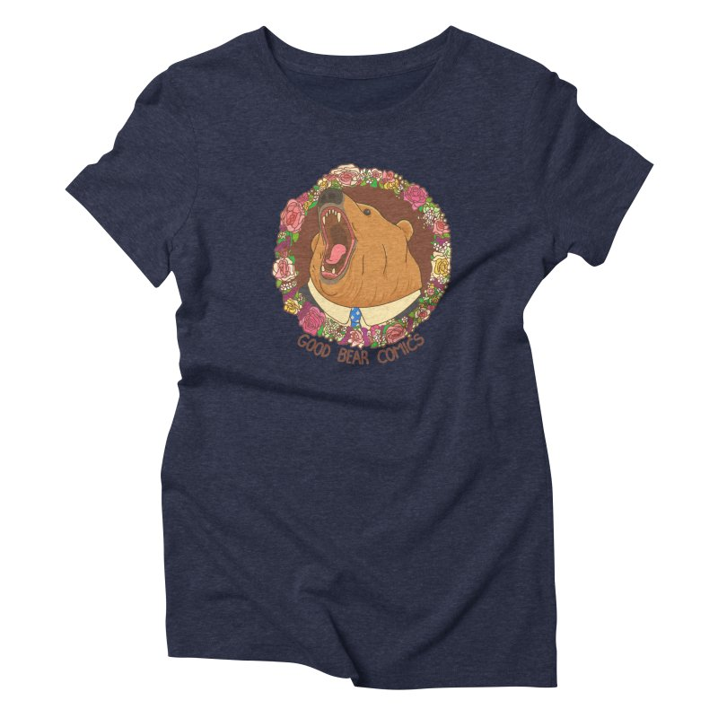 Good Bear Comics Women's Triblend T-Shirt by Good Bear Comics's Artist Shop