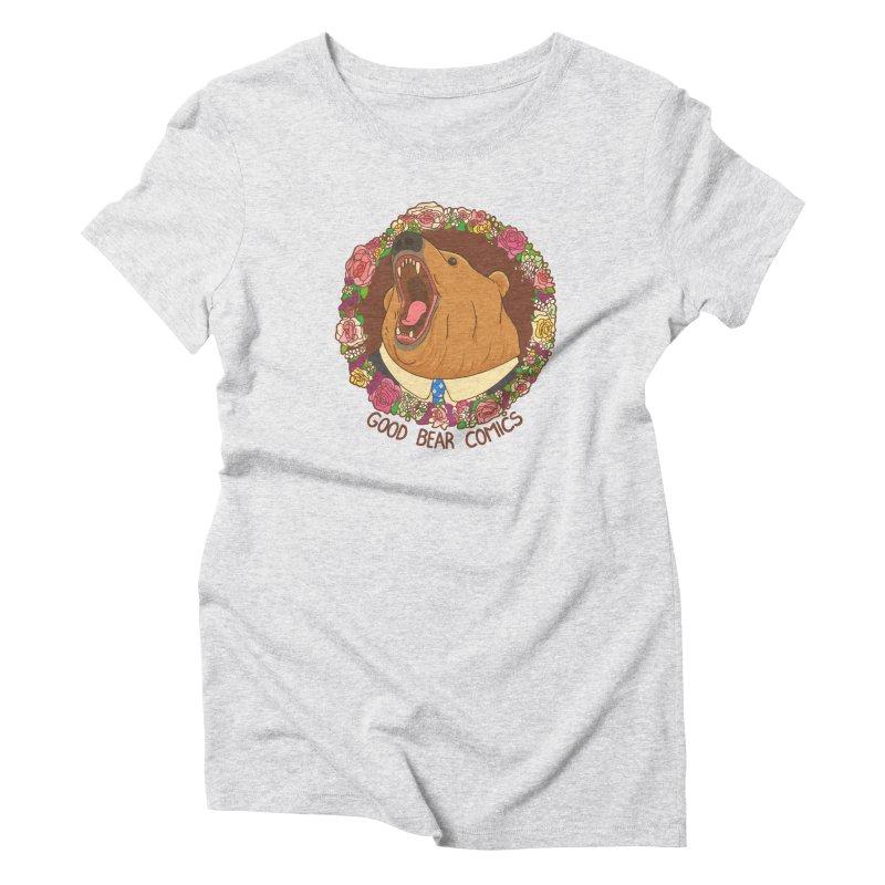 Good Bear Comics Women's Triblend T-Shirt by Good Bear Comics's Artist Shop