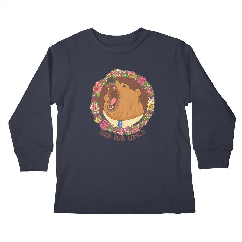 Good Bear Comics Kids Longsleeve T-Shirt by Good Bear Comics's Artist Shop