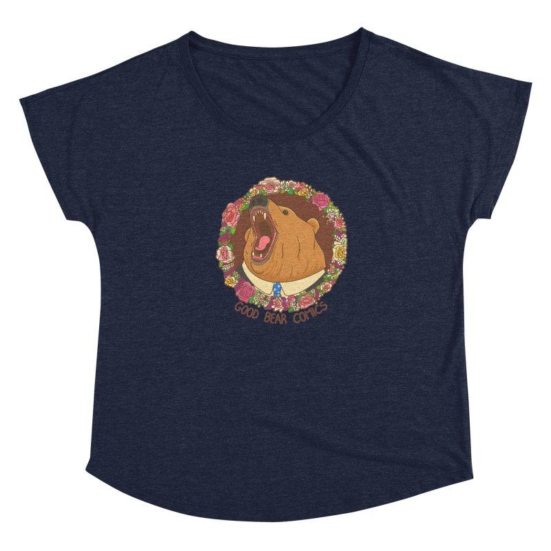 Good Bear Comics Women's Scoop Neck by Good Bear Comics's Artist Shop