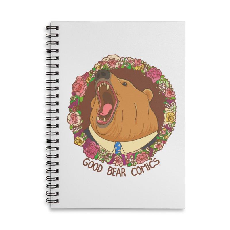Good Bear Comics Accessories Lined Spiral Notebook by Good Bear Comics's Artist Shop