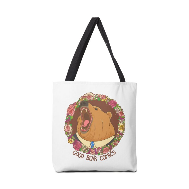 Good Bear Comics Accessories Tote Bag Bag by Good Bear Comics's Artist Shop