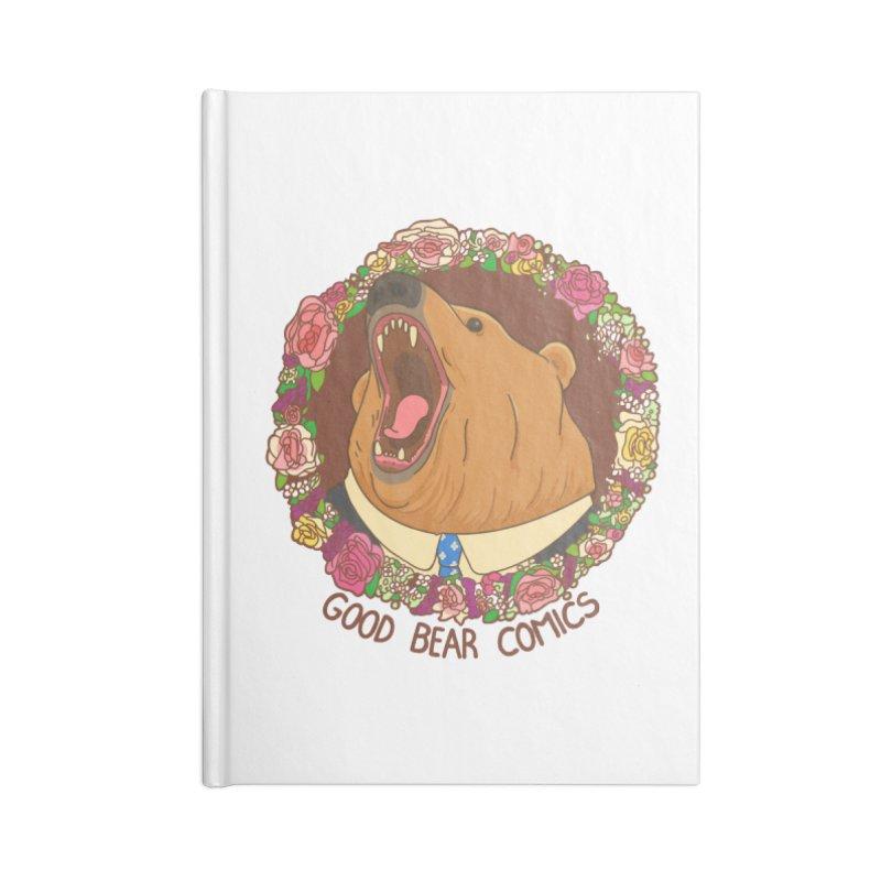 Good Bear Comics Accessories Lined Journal Notebook by Good Bear Comics's Artist Shop