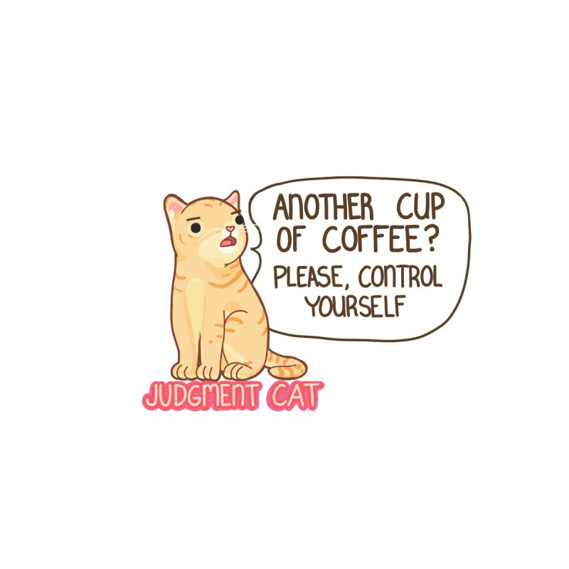 Judgment Cat - (coffee) mug Accessories Bag by Good Bear Comics's Artist Shop
