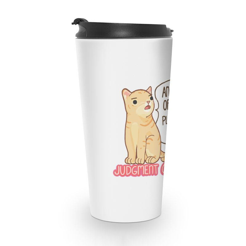 Judgment Cat - (coffee) mug Accessories Travel Mug by Good Bear Comics's Artist Shop