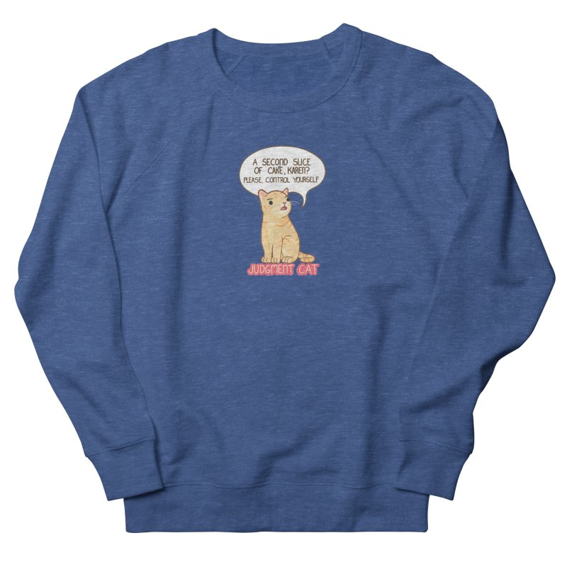 Judgment Cat - cake Men's Sweatshirt by Good Bear Comics's Artist Shop
