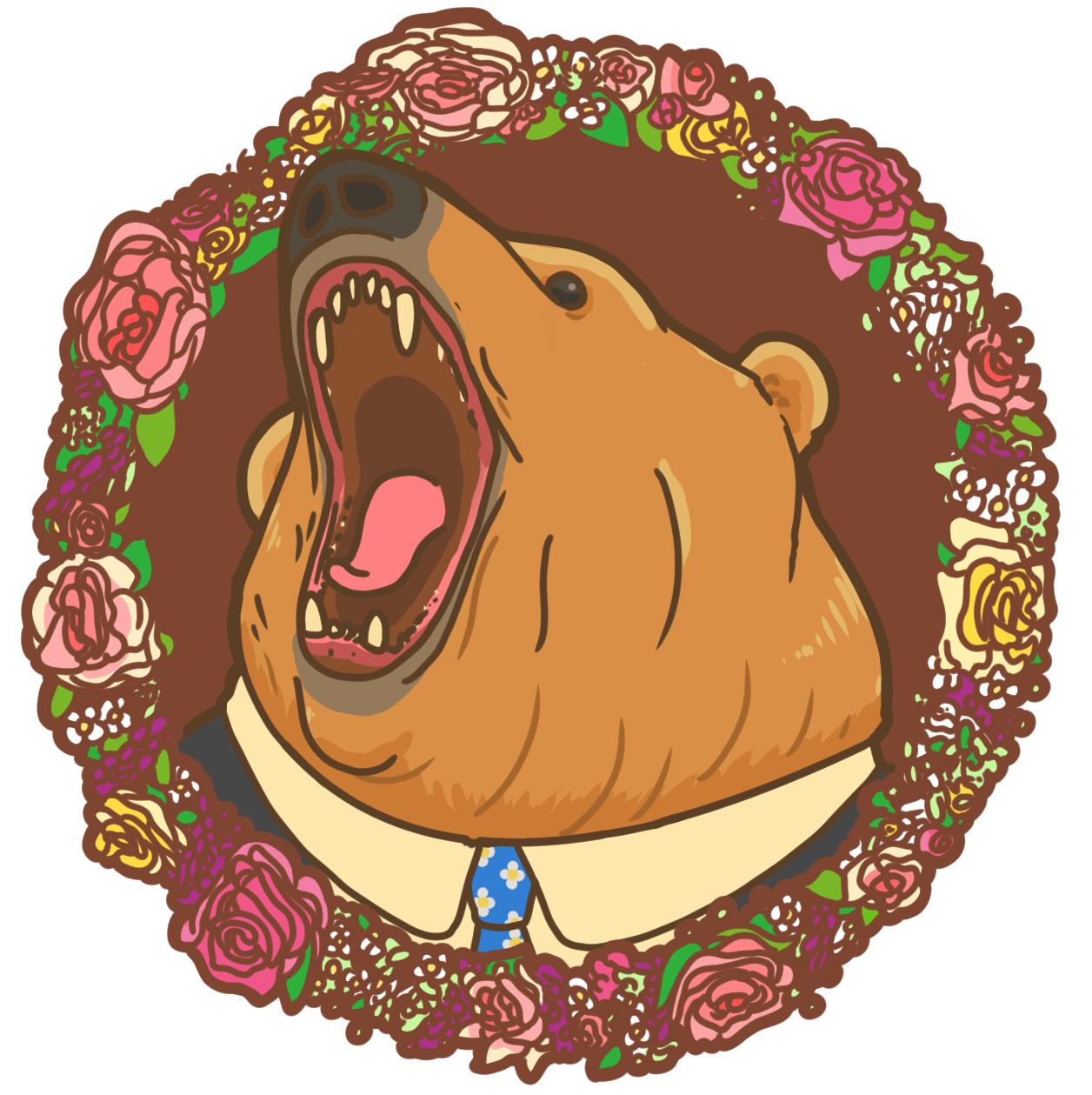 Good Bear Comics's Artist Shop Logo