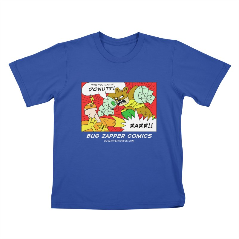 Who You Callin' Donut?! Kids T-Shirt by The Bug Zapper