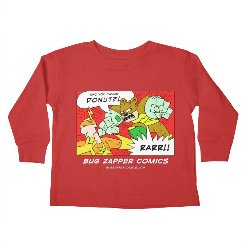 Who You Callin' Donut?! Kids Toddler Longsleeve T-Shirt by The Bug Zapper