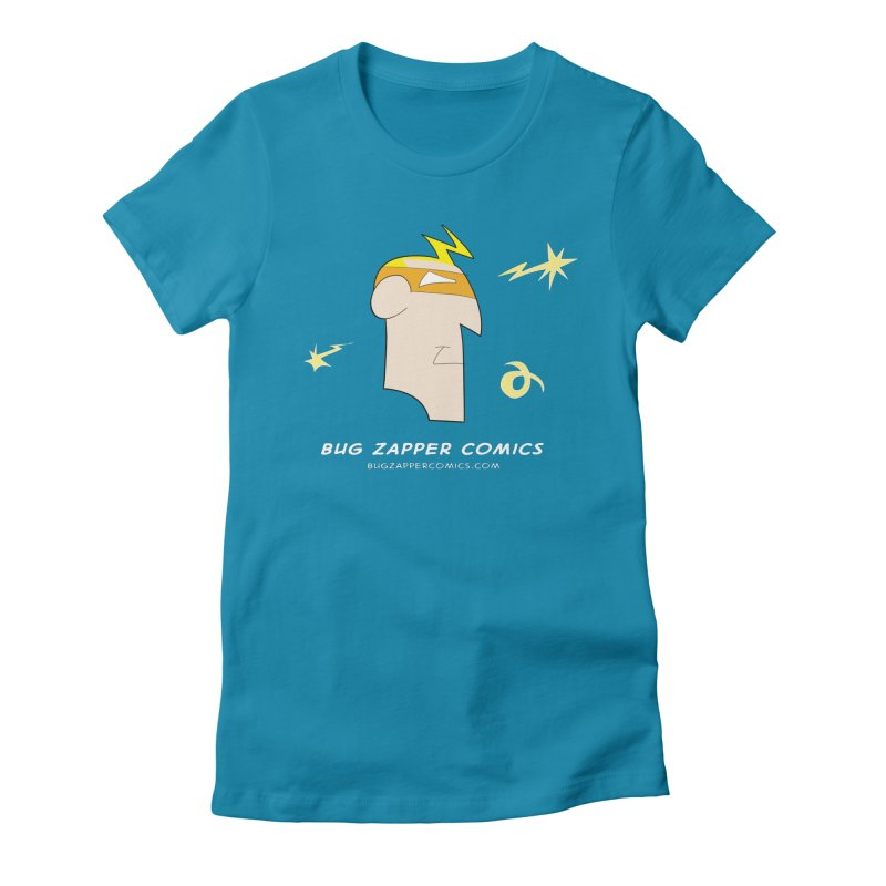 Bug Zapper Women's Fitted T-Shirt by The Bug Zapper