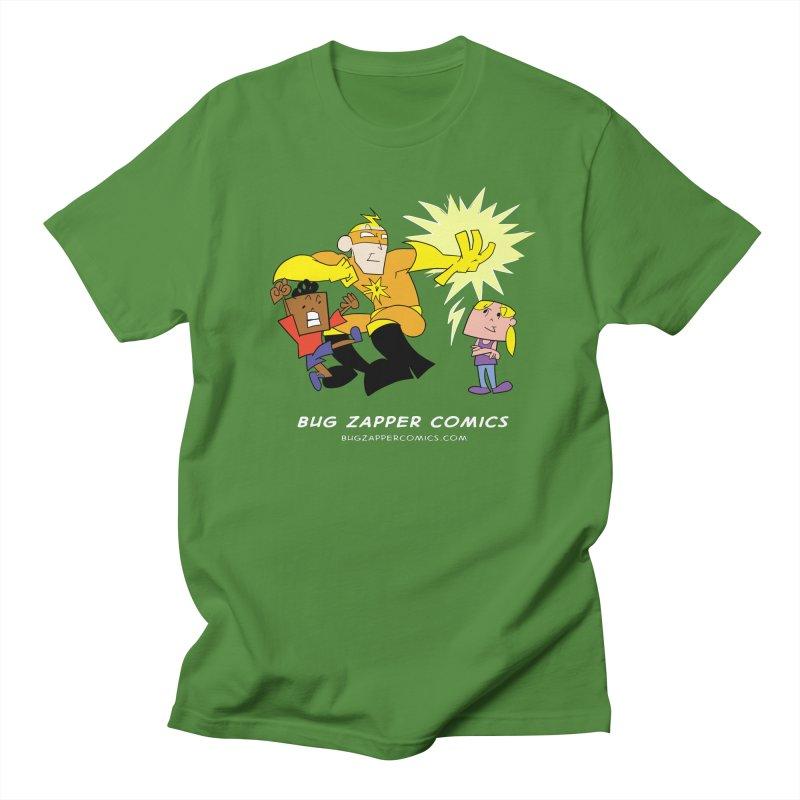 Bug Zapper cover art Men's Regular T-Shirt by The Bug Zapper
