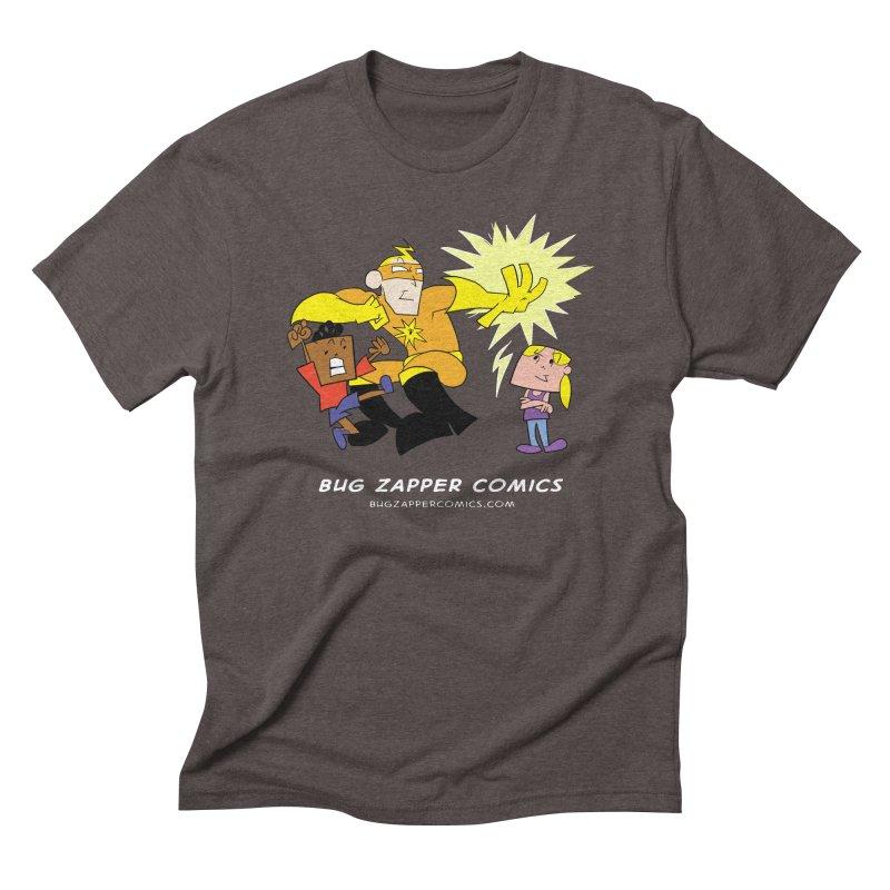 Bug Zapper cover art Men's Triblend T-Shirt by The Bug Zapper