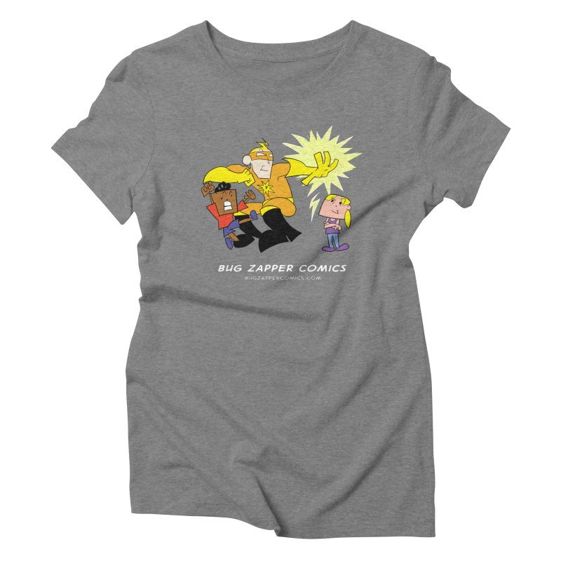 Bug Zapper cover art Women's Triblend T-Shirt by The Bug Zapper