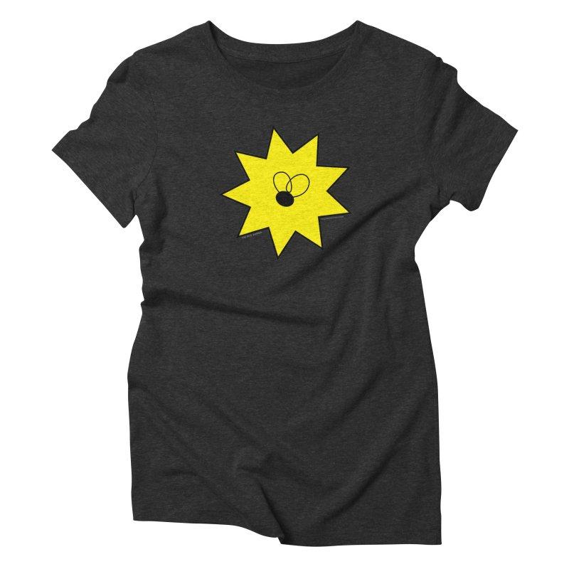 Bug Zapper logo Women's Triblend T-Shirt by The Bug Zapper