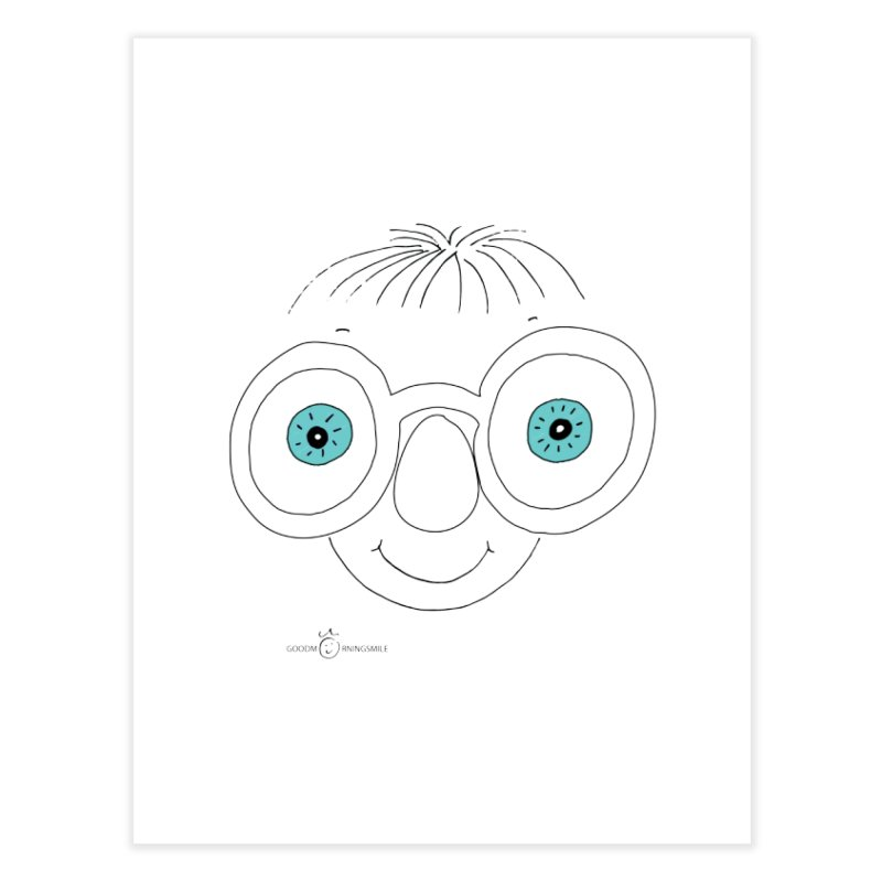Sea Smile Home Fine Art Print by Good Morning Smile