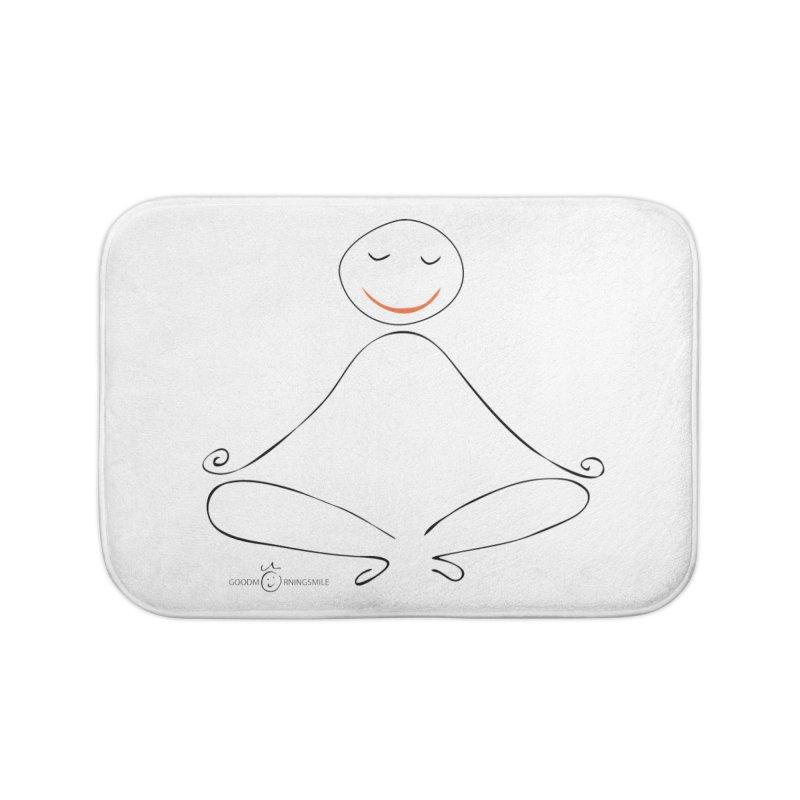 Yoga Smile Home Bath Mat by Good Morning Smile