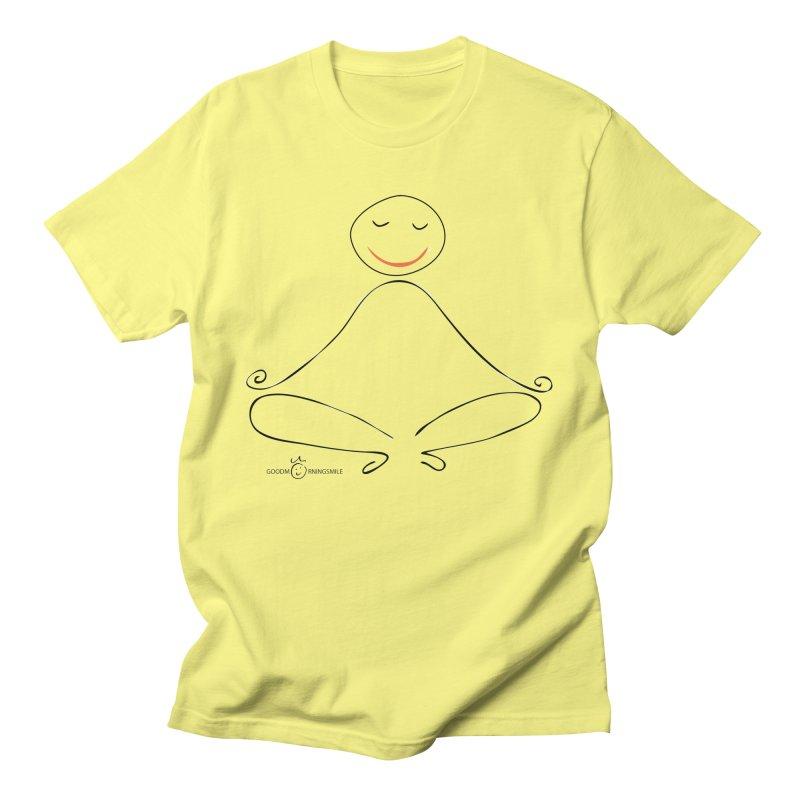 Yoga Smile Men's T-Shirt by Good Morning Smile