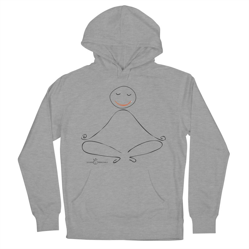 Yoga Smile Women's Pullover Hoody by Good Morning Smile