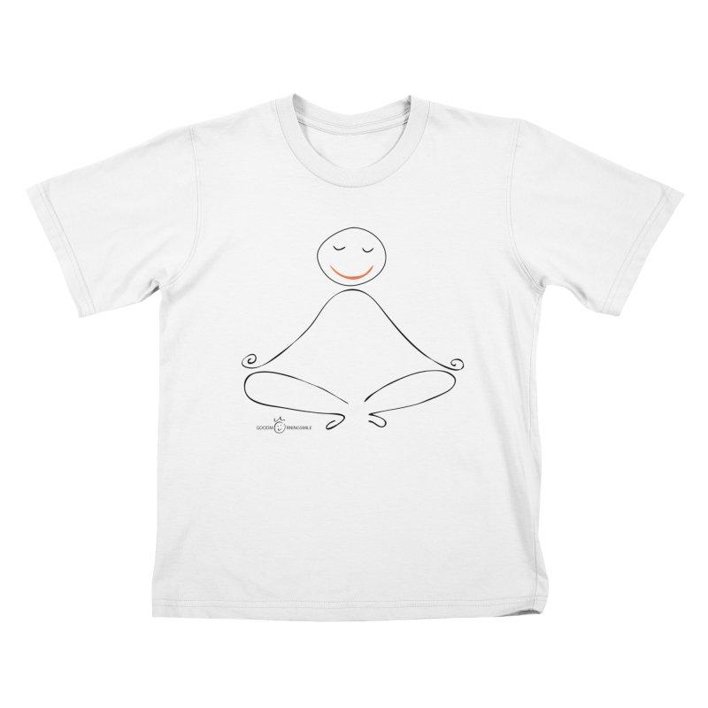 Yoga Smile Kids T-Shirt by Good Morning Smile