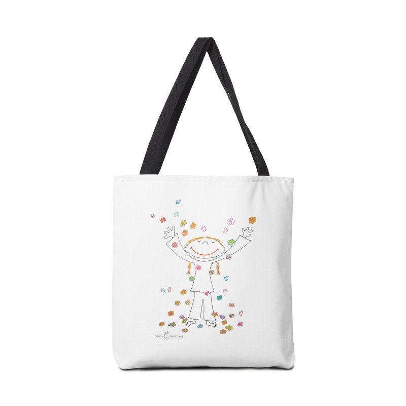 Happy Flower Girl Smile Accessories Bag by Good Morning Smile