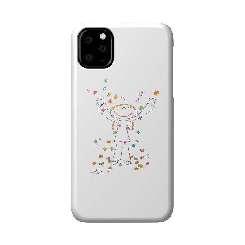 Happy Flower Girl Smile Accessories Phone Case by Good Morning Smile