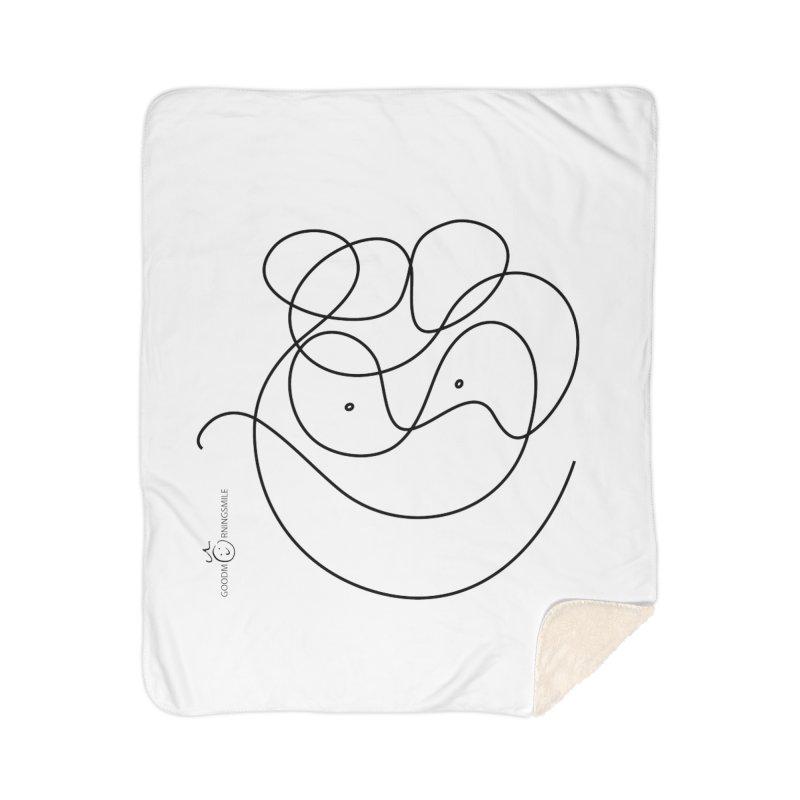 OneLine Smile Home Blanket by Good Morning Smile
