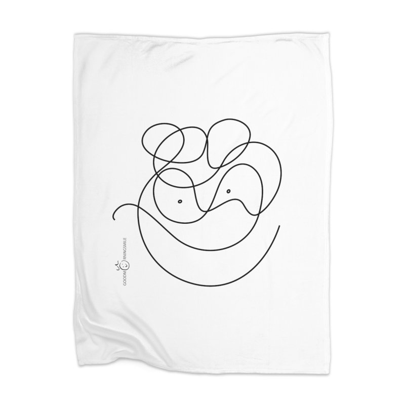 OneLine Smile Home Blanket by Good Morning Smile
