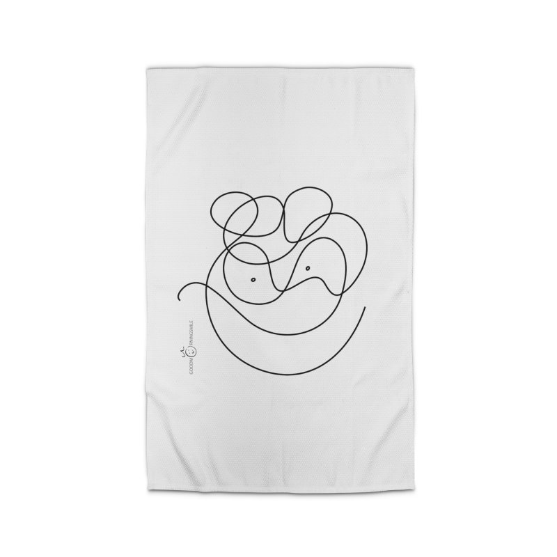 OneLine Smile Home Rug by Good Morning Smile