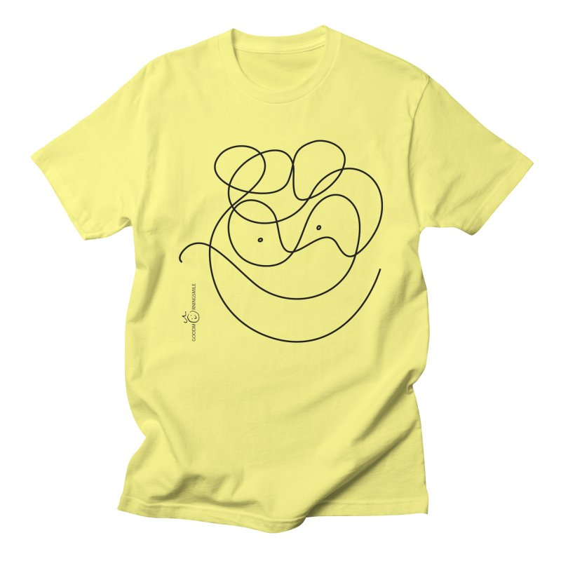 OneLine Smile Men's T-Shirt by Good Morning Smile