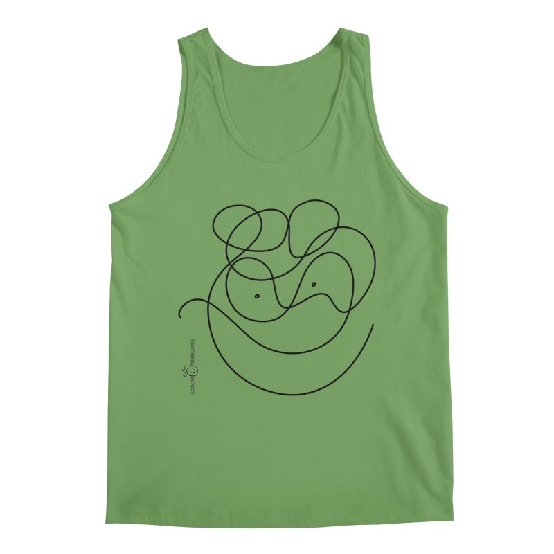 OneLine Smile Men's Tank by Good Morning Smile